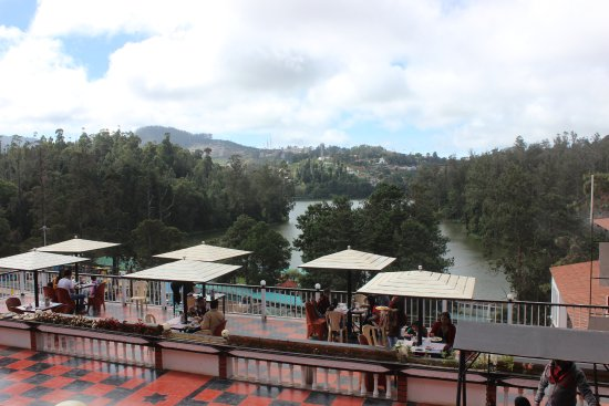 Hotel Darshan Ooty: View from Super deluxe room