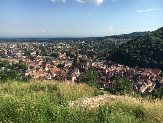 Thann, France: vue dégagée
