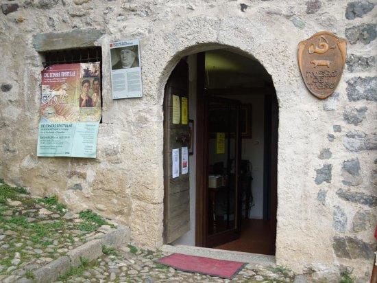 Museo dei Tasso e della Storia Postale: вход в музей