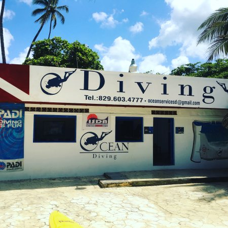 Boca Chica, Dominikanische Republik: The Diving Center