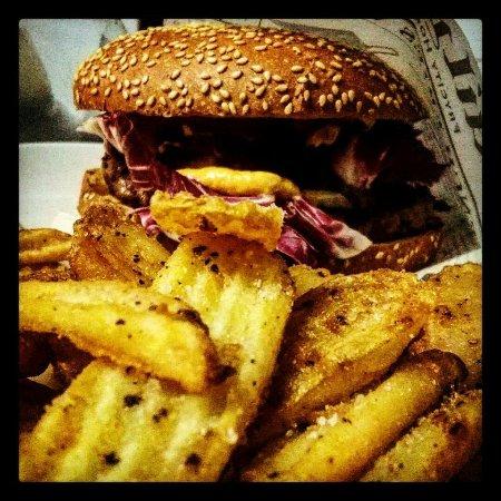 Camerino, อิตาลี: steakburger