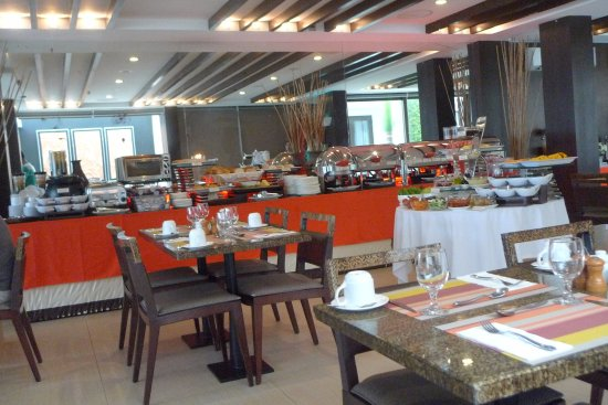 The District Boracay: Where buffet breakfast is served