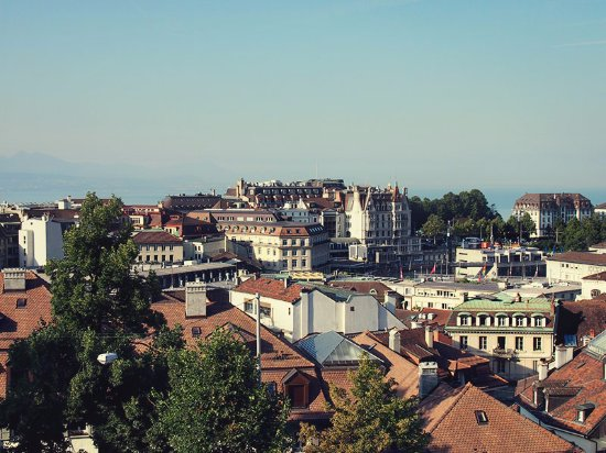 Catedral de Lausanne: Lausanne from the Tower