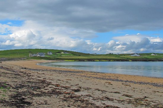 "Dunkineely, Irlanda: Beach - half way along St Johns Point ( about 3 miles from ""Castle Murray Hotel"")."