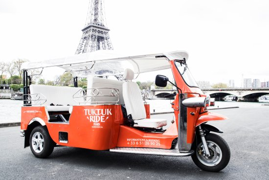 TukTuk Ride Paris