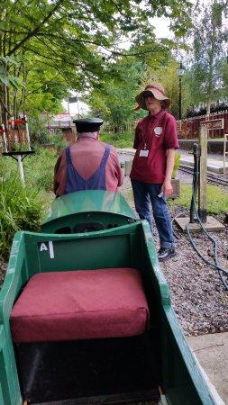 Mizens Railway: Electric train - the Miler