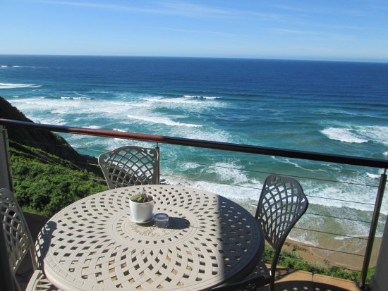 Brenton On Rocks Guesthouse: Balconies with full sea views