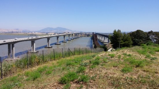 Benicia-Martinez Bridge Vista Point, Benicia, CA, May 2016