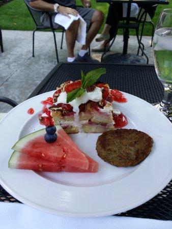 Saugatuck, MI: Morning breakfast