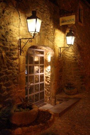 Restaurant Flor de Girasol Al Rhodas: Haupteingang Flor de Girasol
