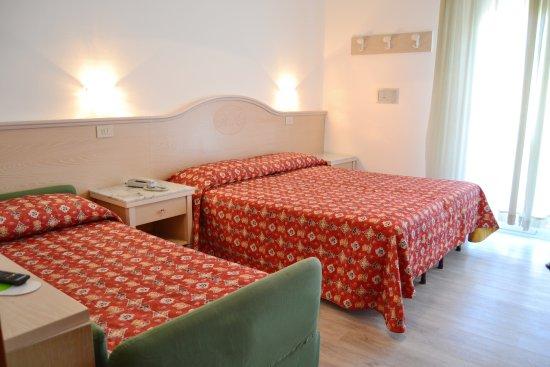 Hotel Margherita: camera a tre letti