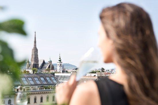 The Ritz-Carlton, Vienna: Atmosphere Rooftop Bar View