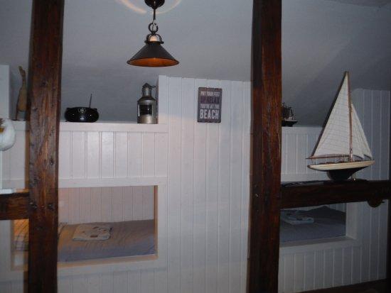 Lübeck-Travemünde, Deutschland: Kids ships bunk beds....