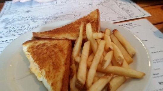 โอเชียนชอส์, วอชิงตัน: grilled cheese