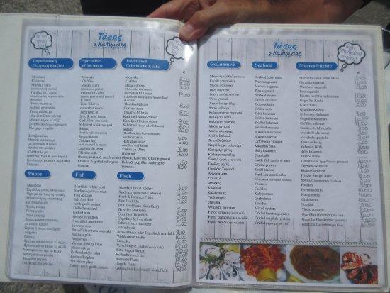 'Brasosca' Fish Taverna and Restaurant : Not just fish on the menu :)