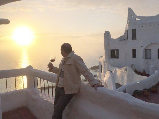 Club Hotel Casapueblo : Top o pôr do sol