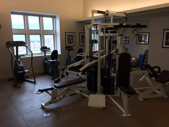 Charles F. Knight Executive Education & Conference Center : Fitness center