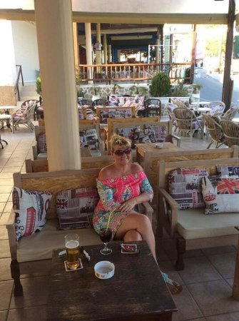 The Pub in Pefkos: Love it xxx