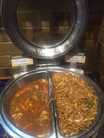 Barbeque Nation: Manchurian & Noodles