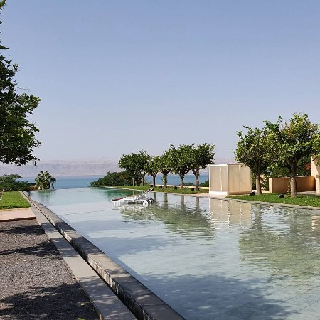 Kempinski Hotel Ishtar Dead Sea: The main at the Lemon Garden