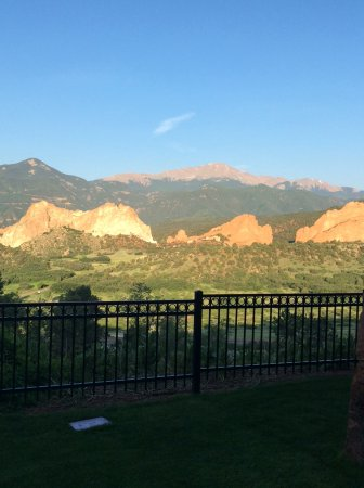 Garden of the Gods Club and Resort: View from our patio