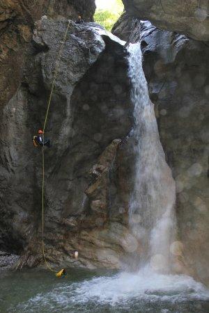 Canyoning Burggrabenklamm