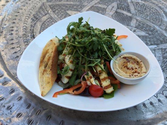 Ronneby, Sverige: Supergod pizza och otroligt fräsch sallad!