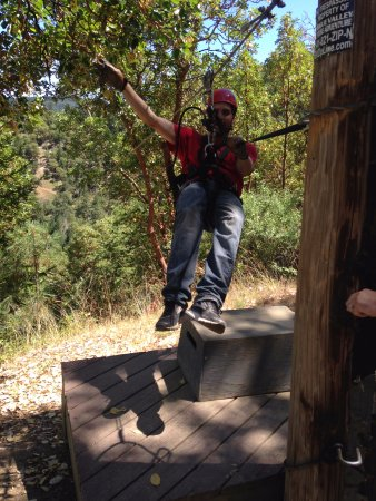 Central Point, Орегон: Zipline Guide
