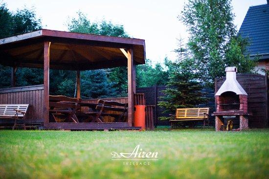 Dom Wypoczynkowy Airen: altana,grill