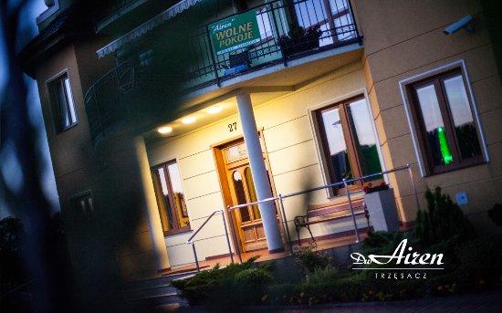 Dom Wypoczynkowy Airen: wejście