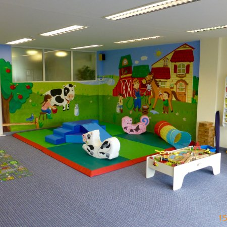 Tregongeeves Farm Cottages: New for 2016 indoor soft play area