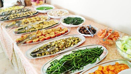 Hotel Simon: Buffet di verdure