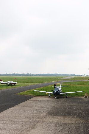 Ковентри, UK: Based at Coventry Airport