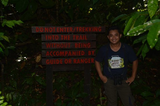 Tabin Wildlife Resort: If you're lucky you'll get Mohammad as your guide.
