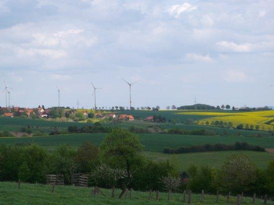 Elbrinxen, ألمانيا: Vanuit dorp Elbrinxen genomen, waar zich B&B Schmiedehof zich bevindt.