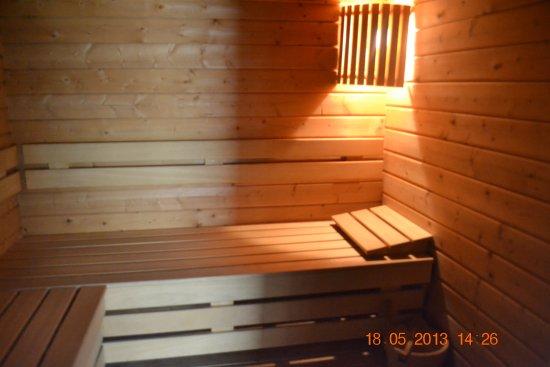 La Demeure des 2 Tresors: sauna
