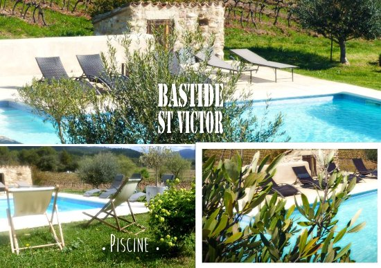 Puyvert, Francia: piscine