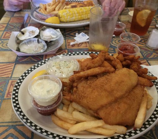 Commack, NY: This time mom had the halibut.