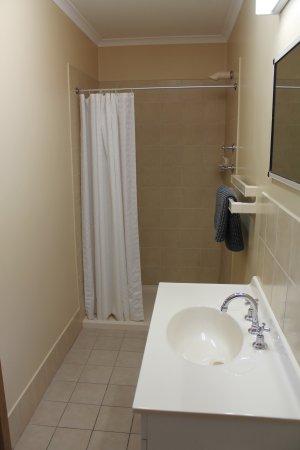 Hillview Caravan Park : 1 Room Holiday Cabin bathroom
