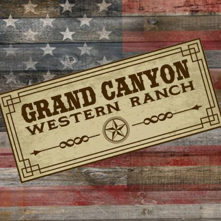 Western town and spirit mountain at grand canyon western for Grand ranch