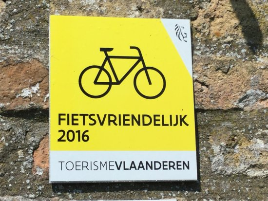 Alveringem, Belgio: We hebben het label van fietsvriendelijke B&B