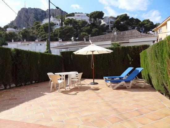 Apartamentos Jora: Jora Ground floor(1B) terrace