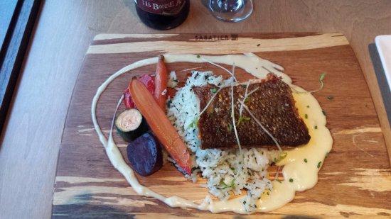 Hôtel Le Francis: Filet de saumon