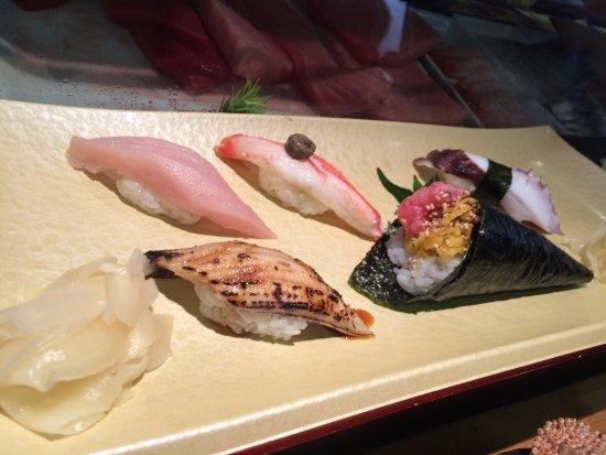Sushizanmai Honjin: Eel, crab, octopus