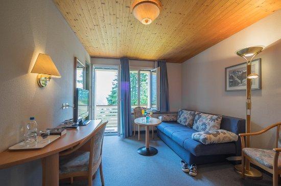 Hotel Alpenblick Murren : Doppelzimmer superior