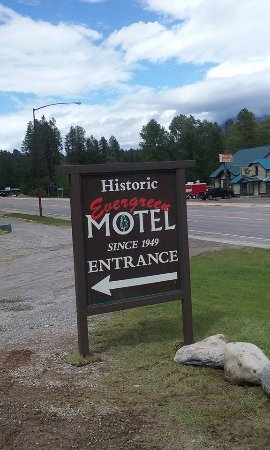 Evergreen Motel: Historic Motel