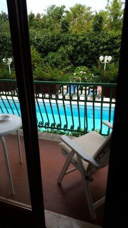 Hotel Eliseo Park's: panoramma dalla mia camera