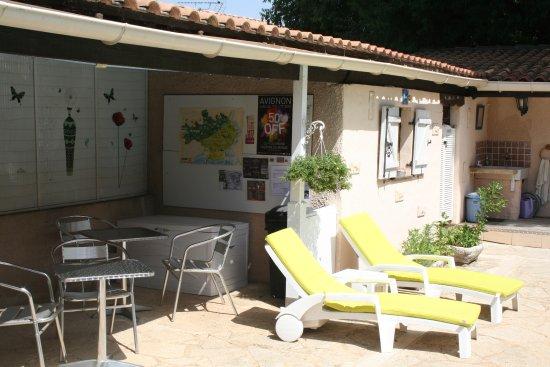 Cabrieres, Prancis: Espace piscine
