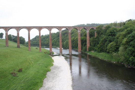 Melrose, UK: Drygrange Viaduct