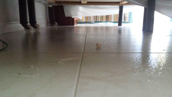 Fußboden Wischen ~ Wie man sieht die bette kann man wegrollen und den boden wischen